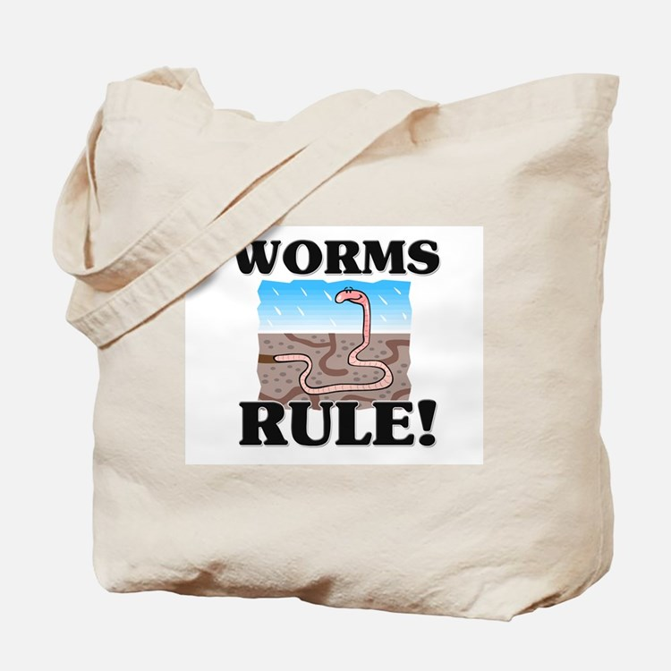 Worms Rule! Tote Bag
