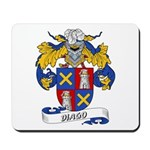 Diago Family Crest Mousepad