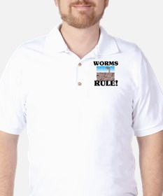 Worms Rule! T-Shirt