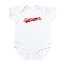 Retro Lawrence (Red) Infant Bodysuit
