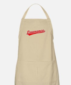 Retro Lawrence (Red) BBQ Apron