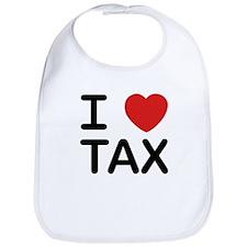 """""""I Love Tax"""" Bib"""