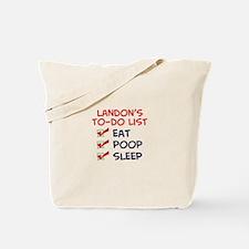 Landon's To-Do List Tote Bag