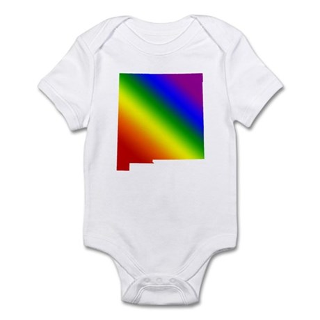 New Mexico Gay Pride Infant Creeper