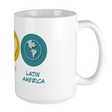Peace Love Latin American Studies Mug