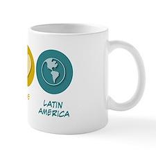 Peace Love Latin American Studies Mug
