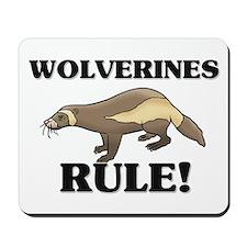 Wolverines Rule! Mousepad