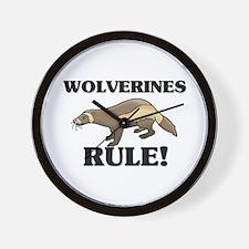 Wolverines Rule! Wall Clock