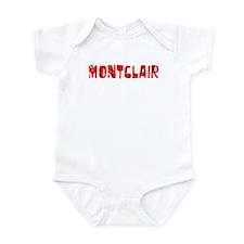 Montclair Faded (Red) Infant Bodysuit