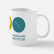 Peace Love Landscape Architecture Mug