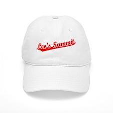 Retro Lee's Summit (Red) Baseball Cap