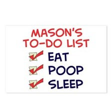 Mason's To-Do List Postcards (Package of 8)