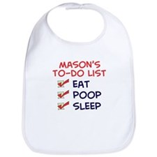 Mason's To-Do List Bib
