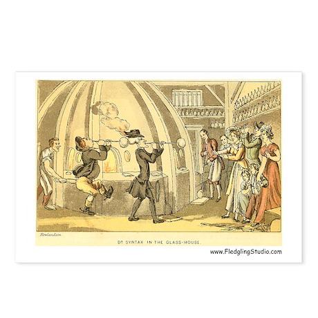 Vintage Glassblower Postcards (Package of 8)