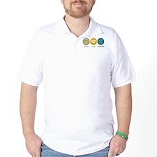 Peace Love Lacrosse T-Shirt