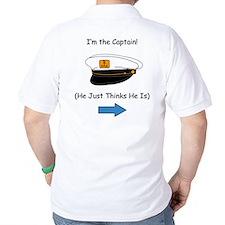 I'm the Captain Women's T-Shirt