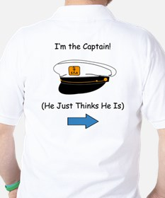 I'm the Captain Women's T-Shirt