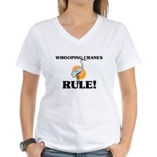Whooping Cranes Rule! Shirt