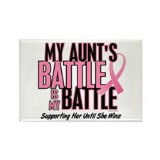 My Battle 1 (Aunt BC) Rectangle Magnet (10 pack)