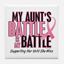 My Battle 1 (Aunt BC) Tile Coaster