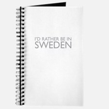 I'd rather be in Sweden Journal