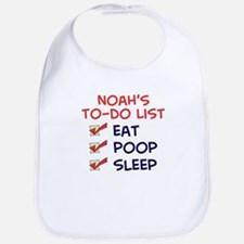 Noah's To-Do List Bib