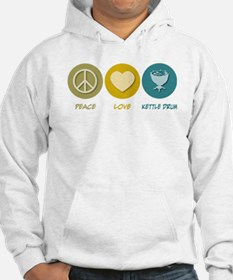 Peace Love Kettle Drum Jumper Hoody
