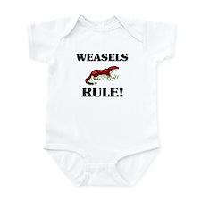 Weasels Rule! Infant Bodysuit