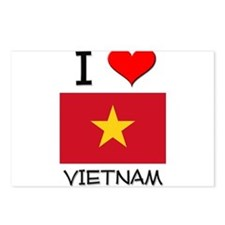 I Love Vietnam Postcards (Package of 8)