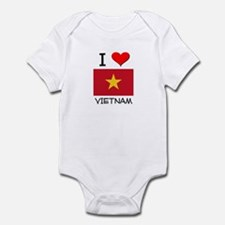 I Love Vietnam Infant Bodysuit