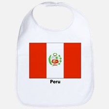 Peru Peruvian Flag Bib