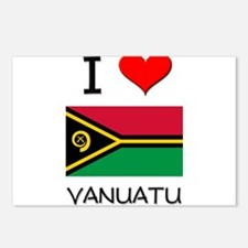 I Love Vanuatu Postcards (Package of 8)