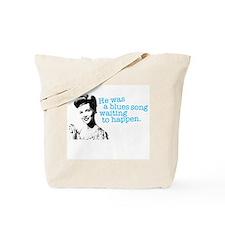 Blues Song Tote Bag