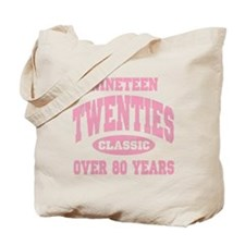 1920's Classic Pink Tote Bag