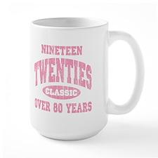 1920's Classic Pink Mug