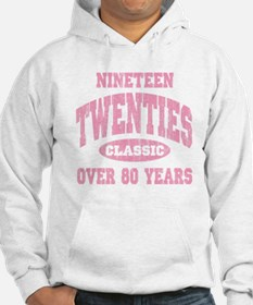 1920's Classic Pink Hoodie