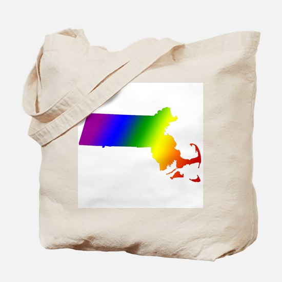 Massachusetts Gay Pride Tote Bag