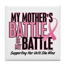 My Battle Too 1 (Mother BC) Tile Coaster