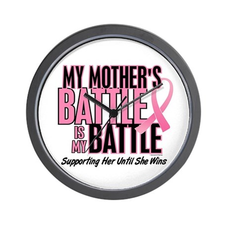 My Battle Too 1 (Mother BC) Wall Clock