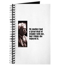 "Twain ""My Mother"" Journal"