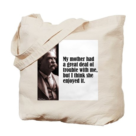 "Twain ""My Mother"" Tote Bag"
