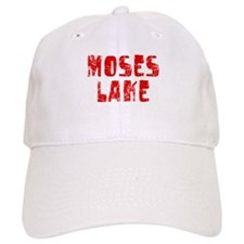 Moses Lake Faded (Red) Baseball Cap