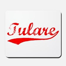Vintage Tulare (Red) Mousepad