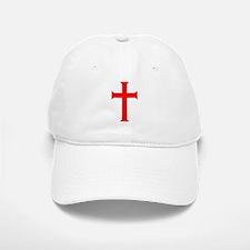 Red Cross/White Background Baseball Baseball Cap
