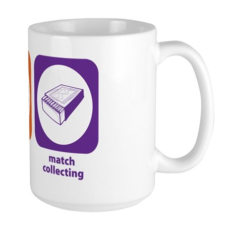 Eat Sleep Match Collecting Large Mug