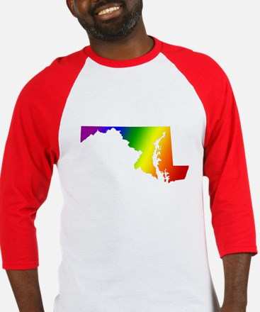 Maryland Gay Pride Baseball Jersey