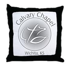 Calvary Chapel Throw Pillow