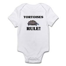 Tortoises Rule! Infant Bodysuit