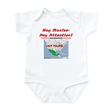 """""""Listen Up Mexico!"""" Infant Bodysuit"""