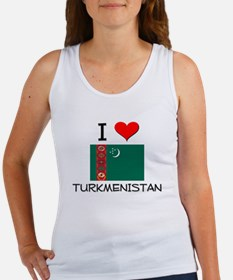 I Love Turkmenistan Women's Tank Top